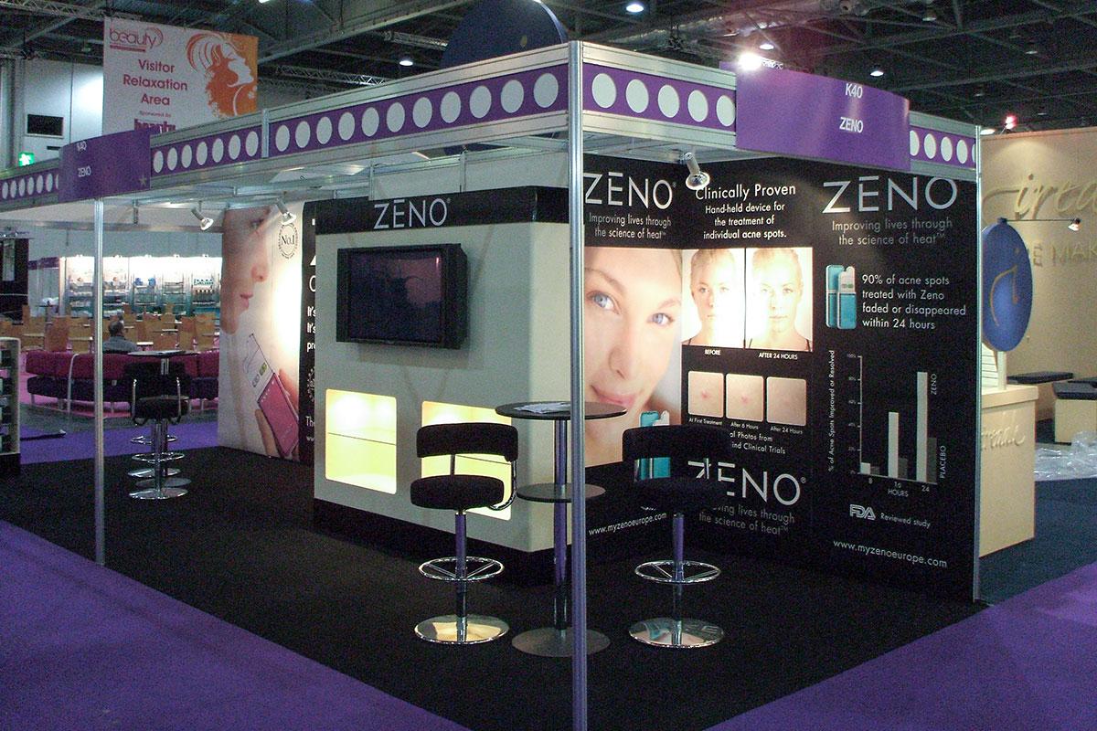 Cosmetic Exhibition Stand Design : Exhibition stand design creative exhibitions ltd